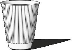 Брендированные стаканчики в Харькове, бумажные стаканы с