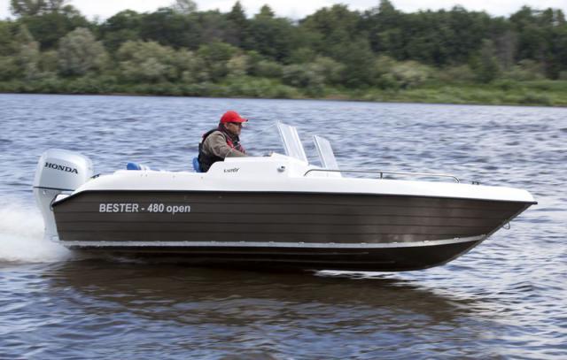 моторная лодка бестер 480 open цена